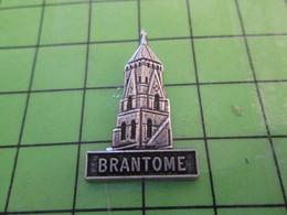 115a Pin's Pins / Beau Et Rare : Thème VILLES / VILLE DE BRANTOME EGLISE Par PICHARD SAUMUR - Cities