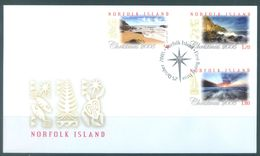 NORFOLK ISLAND - FDC - 25.10.2005 - CHRISTMAS  - Yv 873-875 ASC 923-925 - Lot 17485 - Ile Norfolk