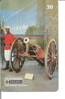 Télécarte Du BRESIL - CANON - ARSENAL DE GUERRE DO RIO - Armée