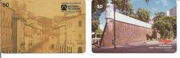 2 Télécartes Du BRESIL - SALVADOR DE BAHIA - Brésil