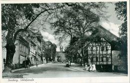Bensberg 1953; Schloss Strasse - Gelaufen. (Sturm - Bensberg) - Bergisch Gladbach