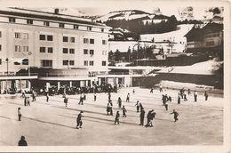 74 Haute Savoie  :  Mégève  La Patinoire Du Sporting Club   Réf 4563 - Megève