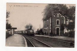 Bruère Allichamps ( Cher ) - La Gare , Train - 18 - - Autres Communes