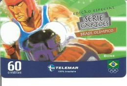 Télécarte Du BRESIL - BRESIL OLYMPIQUE - BOXE - Giochi Olimpici