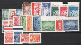 Jugoslavia 1947 7 Emissioni/Issues MNH/** VF - Neufs