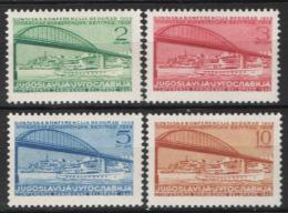 Jugoslavia 1948 Unif. 494/97 MNH/** VF - Nuovi