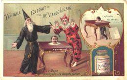 0409 Liebig SERIE Nr 409  COMPLETE Magie Divulguèe Magic Tricks Litho Cards Zauberkünste  Anno 1895 Sending Included - Liebig