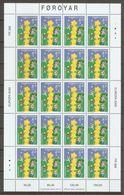 2000 Faroe Islands.  Europa CEPT.   MS  ** - 2000