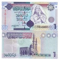 Libia Libya 1 Dinar  Gheddafy FDS - UNC   LOTTO 1521 - Libya