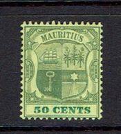 MAURITIUS...#111...mh - Mauritius (...-1967)