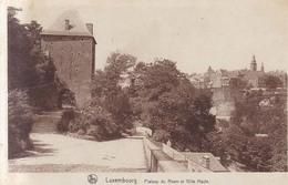 Luxembourg Plateau Du Rham Et Ville Haute 1928 - Luxemburg - Town