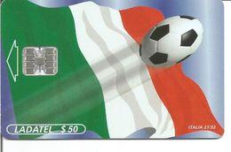 Télécarte Du MEXIQUE - COUPE DU MONDE DE FOOTBALL ( ITALIE 21/32 ) - Sport