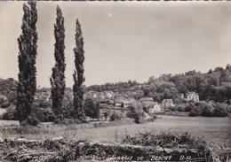 64 BESCAT  CPSM PHOTO ROUX  Jolie Vue Sur Le VILLAGE Maisons Colonie De Vacances CHATEAU  à Travers CHAMPS - France