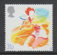 """TIMBRE NEUF DE GRANDE-BRETAGNE - CENTENAIRE DE LA """"LAWN TENNIS ASSOCIATION"""" N° Y&T 1309 - Tennis"""