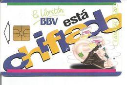 Télécarte Du MEXIQUE - EL LIBRETON BBV ESTA CHIFLADO - Mexique