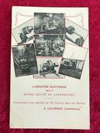 Luxemburg Firma A. Lecorsais  L`Industrie Electrique Dans Le Grand Duche De Luxembourg - Postcards