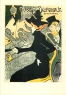 LE DIVAN JAPONAIS - H. De TOULOUSE-LAUTREC - 1892 - Arts