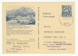 Austria, Altaussee Illustrated Postal Stationery Postkarte Travelled 1970 B180720 - Stamped Stationery