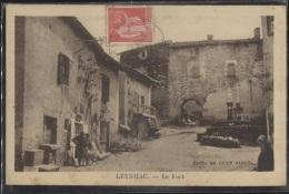 CPA - LEYNHAC - LE FORT - Edition Sabut - France