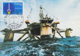 Carte Maximum  1er  Jour   FRANCE   FONDS  MARINS    DUNKERQUE    1981 - Cartes-Maximum