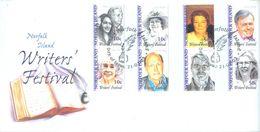 NORFOLK ISLAND - FDC - 21.7.2003 - WRITERS' FESTIVAL  - Yv 790-797 ASC 825-832 - Lot 17487 - Ile Norfolk