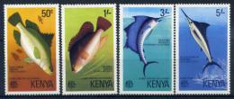 Kenya 1977 Mi. 66-69 Neuf ** 100% Poisson - Kenya (1963-...)