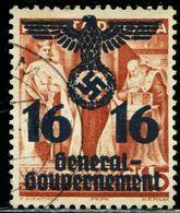 AJ0922 Dezhan Poland 1940 Occupation Army Emblem 2 World War II 1 Letter Sales 16 Points MNH - WO2