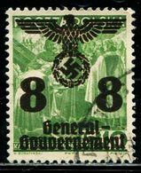 AJ0925 Dezhan Poland 1940 Occupation Army Emblem 2 World War II 1 Letter Sales 8 Points MNH - WO2