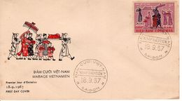 VIETNAM   -   1967 Children's Day - National Customs  FDC5490 - Vietnam