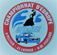 Championnat D'Europe Peltier Lafosse De Fierland Gitanes BMW. - Vintage. - Car Racing - F1