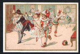 Chromo Au Bon Marche, MI3, Bals D'enfants Costumés, Le Galop Final - Au Bon Marché