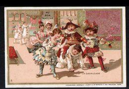Chromo Au Bon Marche, MI3, Bals D'enfants Costumés, La Cavalcade - Au Bon Marché