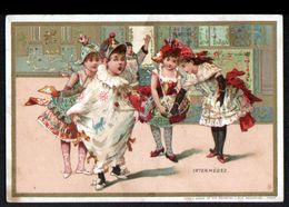 Chromo Au Bon Marche, MI3, Bals D'enfants Costumés, Intermedes - Au Bon Marché
