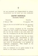 Devotie Overlijden Doodsprentje - Non Zuster Marcella - Constantia Verhulst - Broechem 1885 - Heverlee 1971 - Avvisi Di Necrologio