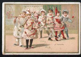 Chromo Au Bon Marche, MI3, Bals D'enfants Costumés, La Fanfare - Au Bon Marché