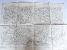 Carte Topographique  Amiens - Levée Par Les Officiers Du Corps D'Etat Major Et Publiée Par Le Dépot De La Guerre En 1835 - Documents