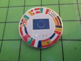 116c Pin's Pins / Beau Et Rare : Thème AUTRES / DRAPEAUX DES PAYS D'EUROPE à L'époque Où ça Marchait Encore - Other