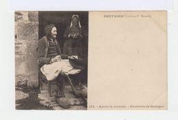 Bretagne. Après La Journée. Environs De Quimper. (3051) - Personnages