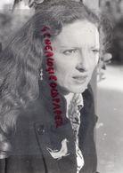 23-  ANNKRIST CONCERTS EN CREUSE 1982 - NEE A BREST - RARE  PHOTO ORIGINALE - Personnes Identifiées