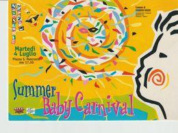 268-Tematica Carnevale -Giardini Naxos-Messina-2.9.Luglio 2000-Baby Carnival-Nuova - Carnaval