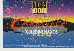 266-Tematica Carnevale -Giardini Naxos-Messina-2.7 Marzo  2000-Nuova - Carnevale