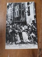 CPA ,édition 1930, Pour L'enseignement De L'Histoire De France ---> Arrestation De CHARLOTTE CORDAY Le 13 Juillet 1793 - Historia