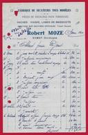 1950 FACTURE 24 EYMET Dordogne - Robert MOZE - FABRIQUE De SECATEURS, Pièces TONDEUSES, HACHES-VIANDE... - Non Classificati