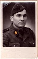 WW2 GERMAN PHOTO OF WAFFEN - SS - 1943. Mitau-Jelgava-Lettland. ORIG. 8,5 X 13,5 Sm - Guerre 1939-45