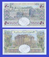 LEBANON  LIBAN 50 LIVRE 1945  - REPLICA --  REPRODUCTION - Liban