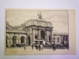 BRUXELLES  :  La GARE  Du  MIDI   XXX - Transport (rail) - Stations