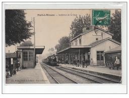 PORT A BINSON - Intérieur De La Gare - Très Bon état - Other Municipalities
