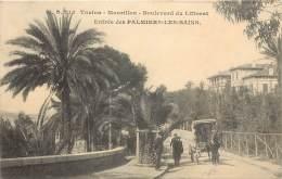 TOULON - Mourillon - Boulevard Du Littoral - Entrée Des PALMIERS LES BAINS - Toulon