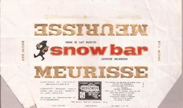 Meurisse / Snow Bar (emballage Chocolat) (réf. 3e) - Pubblicitari