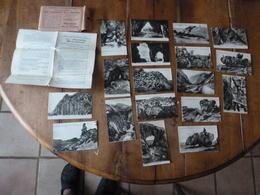 18 CPA ,édition 1930, Pour L'enseignement De La Géographie ---> Phénomènes Dus à L'érosion - Postcards